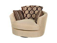 Fairmont cuddler chair