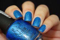 Opi - blue chips beauty nails, nail polish colors и opi Nail Polish Blog, Nail Polish Colors, Opi Polish, Holiday Nail Colors, Holiday Nails, Black Nail Designs, Acrylic Nail Designs, Opi Nails, Nail Polishes