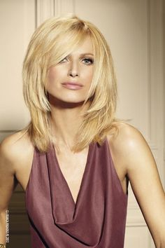 medium length haircut   l would like the top part without the long hanging out or more blended on the left if long
