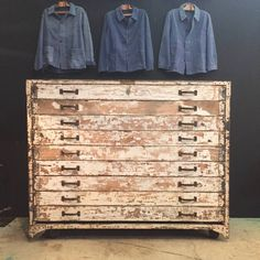 antique bakery chest of drawers - Espace Nord Ouest
