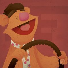 F is for Fozzie by David Vordtriede
