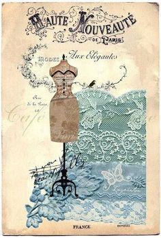 Imprimolandia: Maniquí de sastrería vintage
