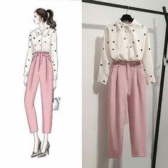 Korean Fashion Tips .Korean Fashion Tips Cute Fashion, Fashion Pants, Hijab Fashion, Korean Fashion, Classy Fashion, Men Fashion, Winter Fashion, Fashion Tips, Fashion Drawing Dresses