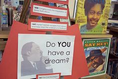 Library Display African American History Month