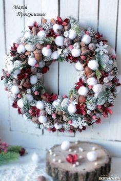 Новости Christmas Advent Wreath, Christmas Gift Decorations, Christmas Centerpieces, Holiday Wreaths, Christmas Home, Christmas Holidays, Christmas Crafts, Holiday Decor, Homemade Christmas
