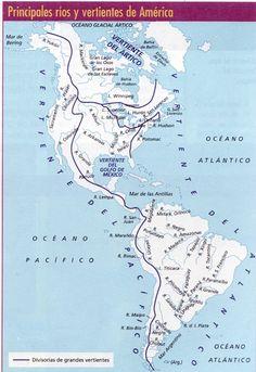 Hidrografia De America: Hidrografia De América