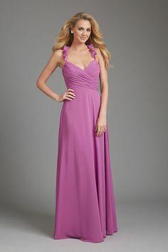 Long V Neck Halter Floor Length Bridemaid Dresses BFDPDRG3NAK - BlackFridayDresses.com for mobile