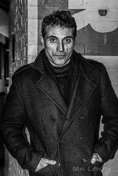 Actor Rufus Sewell kindly chatting to fans in London The Misty Mountains Cold, Roman, High Castle, Rufus Sewell, The Man, Victoria, Actors, View Source, Guys