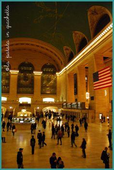 Grand Central Station, New York City #lapatataingiacchetta