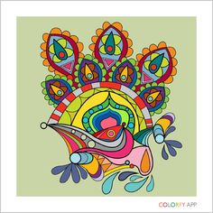 By @shalowater  ! #colorfy #colorfyapp #getinspired #exotic #coloring #book #beautiful #colorful #colors #palette