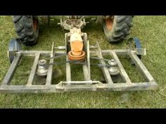 (6) Tomo Vinkovic - YouTube Welding Crafts, Welding Projects, 3 Point Attachments, Food Plots For Deer, Garden Tractor Attachments, Homemade Tractor, Metal Bending Tools, Metal Shaping, Tractor Implements