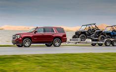 Herunterladen hintergrundbild chevrolet tahoe, 2018, custom edition, luxus-suv, rot tahoe, amerikanische autos, usa, chevrolet