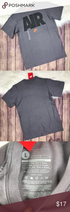 a9888a94f8 Kids Boys Nike Air Short Sleeve T-shirt Size large in kids Armpit to armpit
