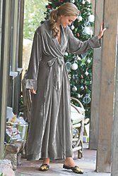 Silk Velvet Robe I