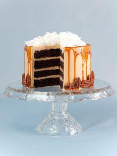 German Chocolate Chocolate Cake