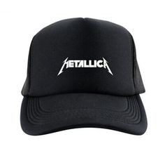 Heavy metal band Metallica baseball cap for men black