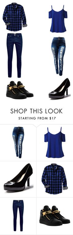 """""""Untitled #386"""" by kassidyrobinson on Polyvore featuring Lands' End, Topman and Giuseppe Zanotti"""