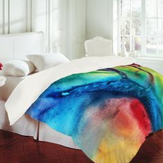 Madart Inc. The Beauty of Color 3 Duvet Cover  $229.00