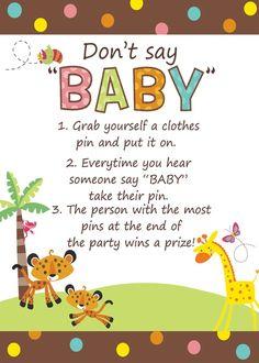 Fisher Price Baby Shower Invitation 899 Rainforest Jungle Baby