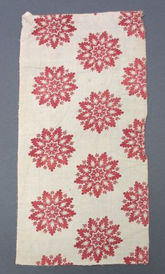 1815-1820 ca. Block Printed Cotton, French. museumcollection.winterthur.org suzilove.com