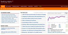 Seeking Alpha, yatırımcılara doğru ve güvenilir bilgi vermeyi amaçlamış ve bu amaç doğrultusunda uzun süredir paylaşımlar yapan bir blog.Freemium modeli izleyerek, PRO olacak kullanıcıların daha fazla bilgiye erişmesine yardımcı oluyor.  http://seekingalpha.com/