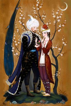 A poem for You. Mehmed II with Radu cel Frumos by Elveo on DeviantArt African Art Paintings, Indie Art, Iranian Art, Ancient Persia, Historical Art, Calligraphy Art, Magazine Art, Portrait Art, Islamic Art