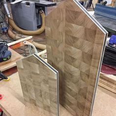 Testning some new material for My Lightweight cutting board:) #endgrain #cuttingboard #kitchenware #piotrthebear #lightweight #handmade #endgraincuttingboard #woodworking #oak #valchromat  Yummery - best recipes. Follow Us! #kitchentools #kitchen