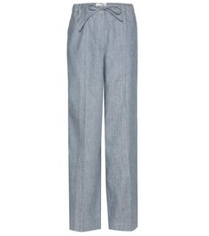 BY MALENE BIRGER Passia linen-blend trousers. #bymalenebirger #cloth #trousers
