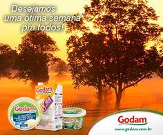 Desejamos uma ótima semana pra todos! Acesse nosso site: www.godam.com.br
