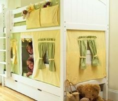 Bunk bed play house