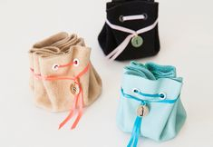 Fun DIY Projects for Teen Girls to Make in Under an Hour - Easy No Sew DIY Jewelry Pouches - DIY Projects & Crafts by DIY JOY