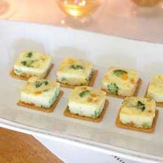 Broccoli Quiche Squares for a tea or a fancy brunch
