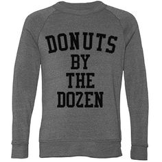 "Donuts By The Dozen - Who needs cake when you have donuts and lot of them. Customize this ""Donuts by the Dozen"" design by changing up the font, art, and text. You could even make matching best friend shirts!"