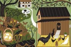Melvyn Evans. Illustrations