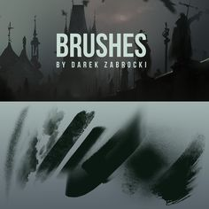 FREE PHOTOSHOP BRUSHES! DAREK ZABROCKI BRUSH SET by daRoz on deviantART via cgpin.com