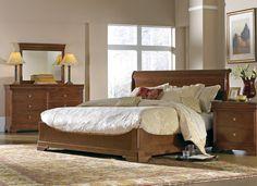 Stickley La Rochelle Bed #bedroom