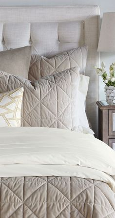 Looking for designer bedding sets? Find a sumptuous collection of designer and luxury bedding sets from all the top brands. Luxury Bedding Sets, Linen Bedding, Bed Linen, Cool Beds, Quilt Sets, Bed Design, Comforter Sets, Bed Sheets, Duvet Covers
