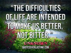 Unknown - 7 Rousing Quotes to Help You Cope in Adversity ... [ more at http://inspiration.allwomenstalk.com ] Life is about learning from our mistakes and how we react to difficult situations. This helps us become better individuals and prepared for all kinds of future conundrums and challenges we may encounter. After all, isn't life just one never-ending lesson?... #Inspiration #Overwhelming #Hammarskjold #Hard #Good #Mary