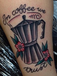 Coffee Tattoos that inspire us at www.deathgripcoffee.com