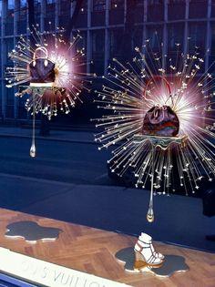 "Called ""As Sweet as Honey"", Louis Vuitton shop windows"