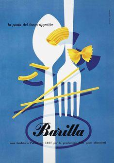 barilla l'arte della cucina poster design competition