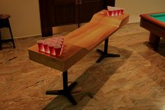 Finally a custom beer pong table that's classy!