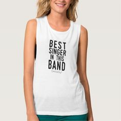Best Singer (probably) (blk) Tank Top - metal style gift ideas unique diy personalize
