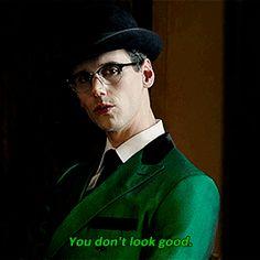 。・:*:・゚★,。・:*:・ Gotham Cast, Gotham Tv, Gotham Girls, Batman Universe, Dc Universe, Cory Michael Smith, Cory Smith, Edward Nygma Gotham, Riddler Gotham