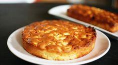 Le gâteau madeleine aux pommes
