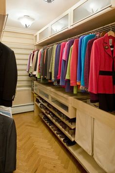 Master Closet Design Ideas, Pictures, Remodel, and Decor - page 27 Closet Shoe Storage, Shoe Shelves, Laundry Storage, Closet Organization, Laundry Bags, Shoe Racks, Laundry Baskets, Dresser Shelves, Laundry Sorter