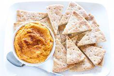 Sriracha Pumpkin Hummus | Recipe Runner | This spicy, smokey hummus will be a hit at your next party!