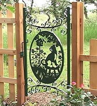 1000 Images About Metal Gates On Pinterest Garden Gates