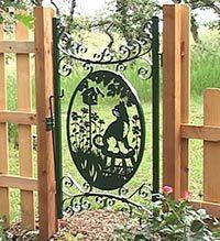 1000 Images About Metal Gates On Pinterest Garden Gates