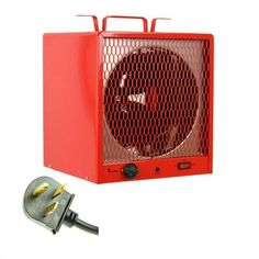 Portable Electric Heater Commercial Industrial Shop Garage Basement Infrared New #DRINFRAREDHEATER